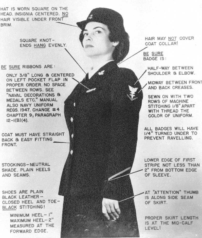 Coast Guard Spars Uniform Instruction American Heritage