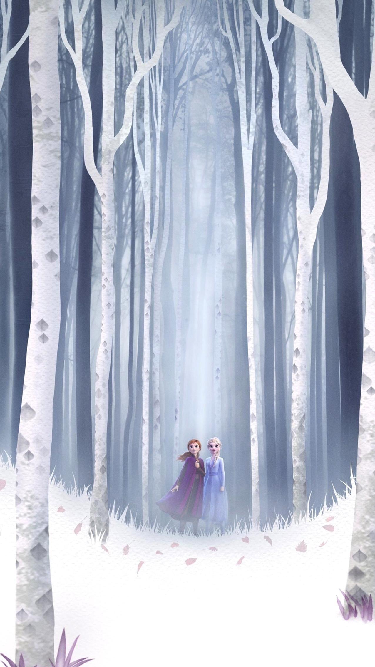 Frozen ii 2019 phone wallpaper