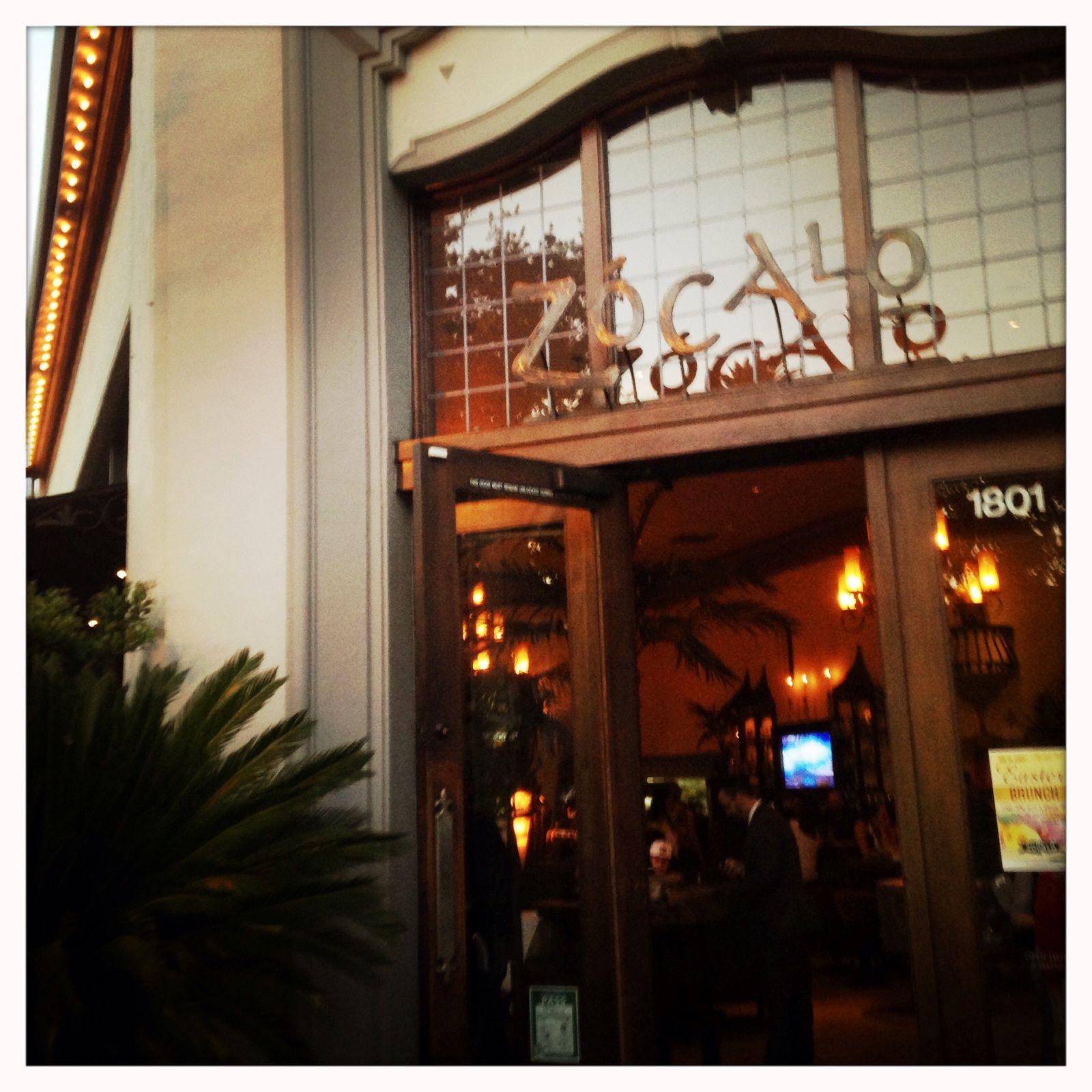 #Zocalo In #Sacramento. Great Happy Hour, Outdoor Patio