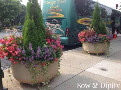 12 Jumbo Planter Design Ideas - | Planters, Gardens and Plants