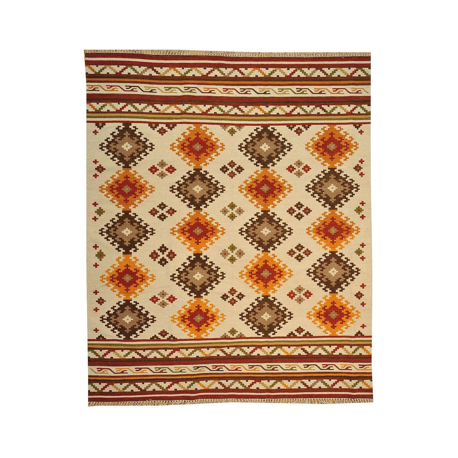 1800getarug Hand-woven Anatolian Kilim Flat Weave Rug