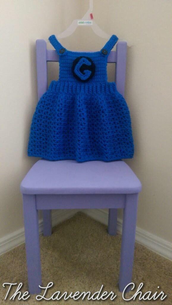 Overall Dress Crochet Pattern