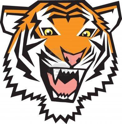 stock vector tigers cartoon