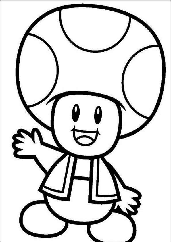 Super Mario Zum Ausmalen 21 Schablonen Zum Ausdrucken Pinterest