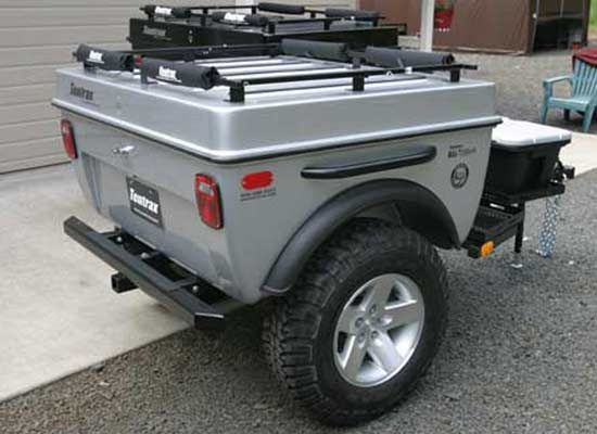 Another Design Jeep Trailer Jeep Camping Utility Trailer
