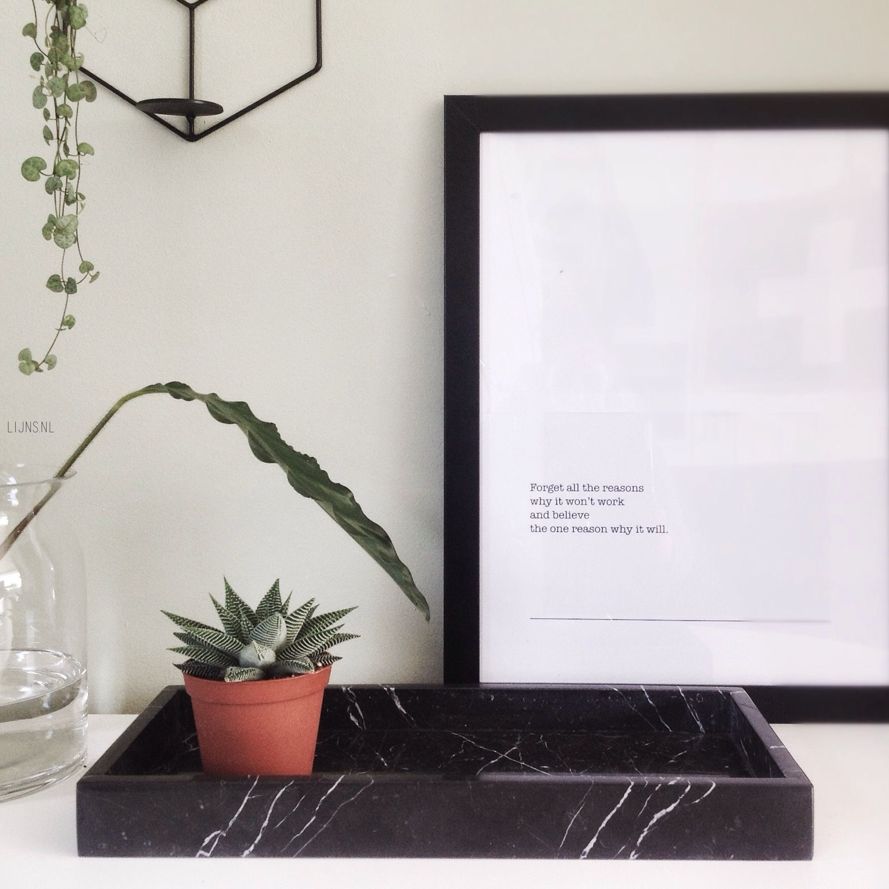 At Shop Lijns Nl You Can Now Buy This Rockin Black Beauty Marble Tray Marble Zwart Marmer Decoratie Interieur