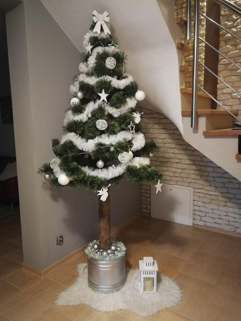 Choinka Na Pniu Holiday Decor Christmas Is Coming Christmas Tree