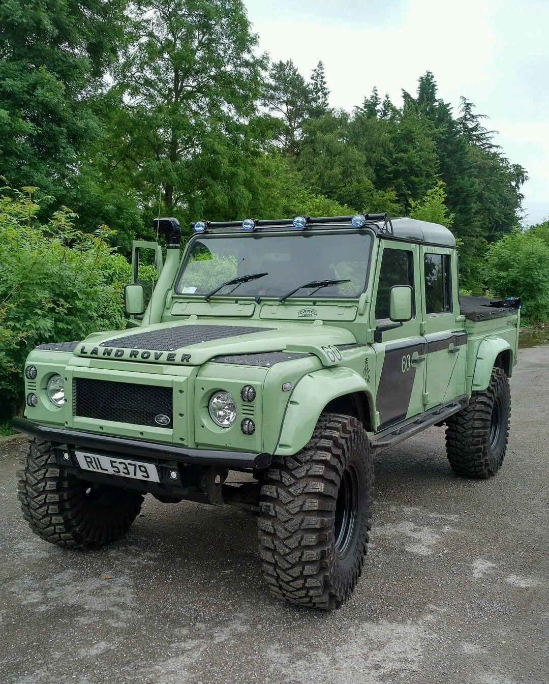 land rover defender td5 double cab 130 110 pick up in cars motorcycles vehicles cars land. Black Bedroom Furniture Sets. Home Design Ideas