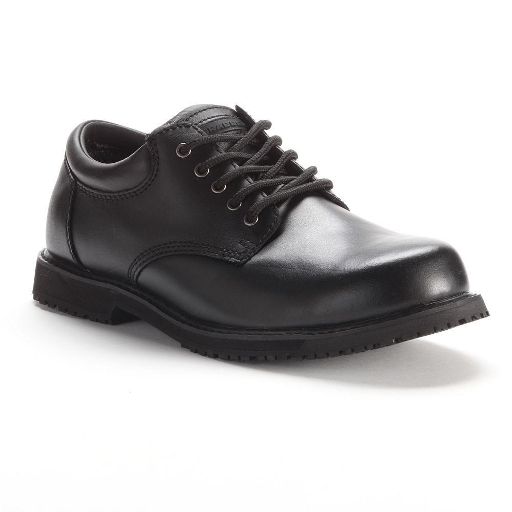 Grabbers Women s Slip-Resistant Oxford Work Shoes 85bc05321c