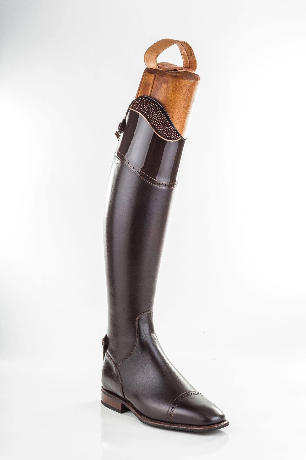 Brown Messapia Riding Boots   Galeri