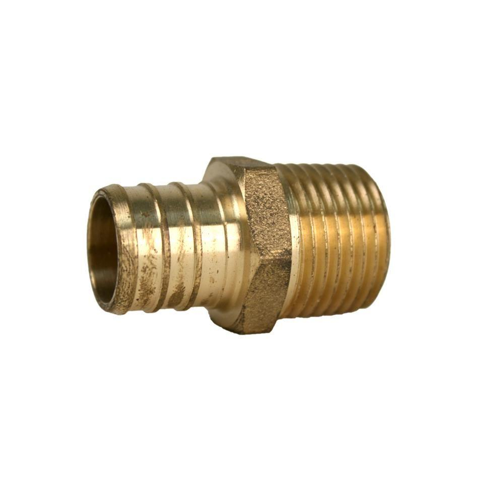 Markimex Dba Ultra Fauce 3 4 In Pex X 1 2 In Mpt Pex Fitting Male Adapter Valve Products In 2019 Faucet Repair Ultra Series Plumbing