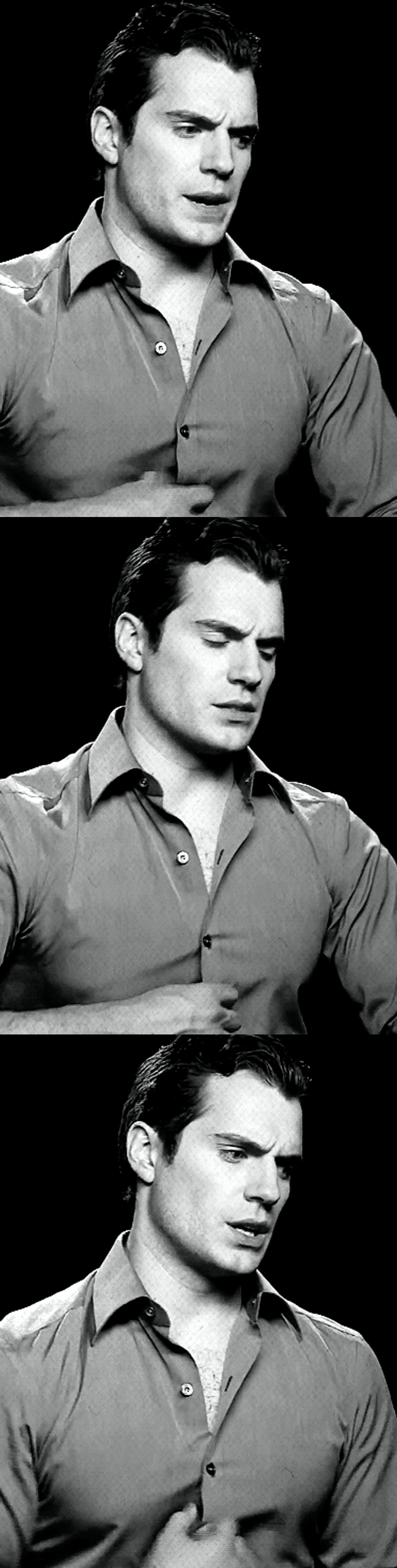 Pin by Ms.Flo on Henry Cavill black and white Most