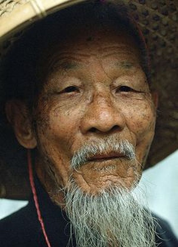 Image result for sad 90 yr old toothless chinese man