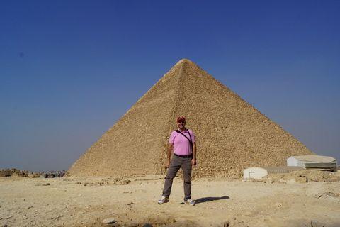 El Cairo, Pirámide de Keops