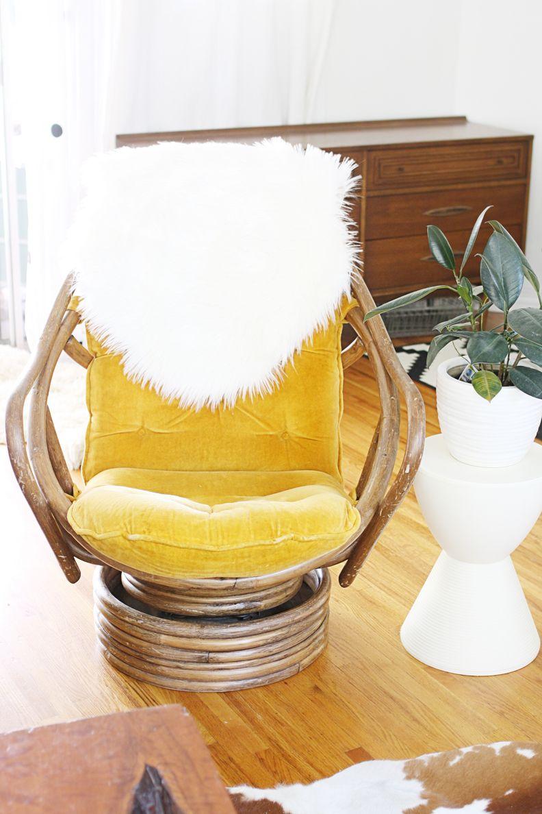 Vintage Rattan Swivel Rocker Cane Furniture, Rattan Furniture, Living  Furniture, Vintage Furniture,