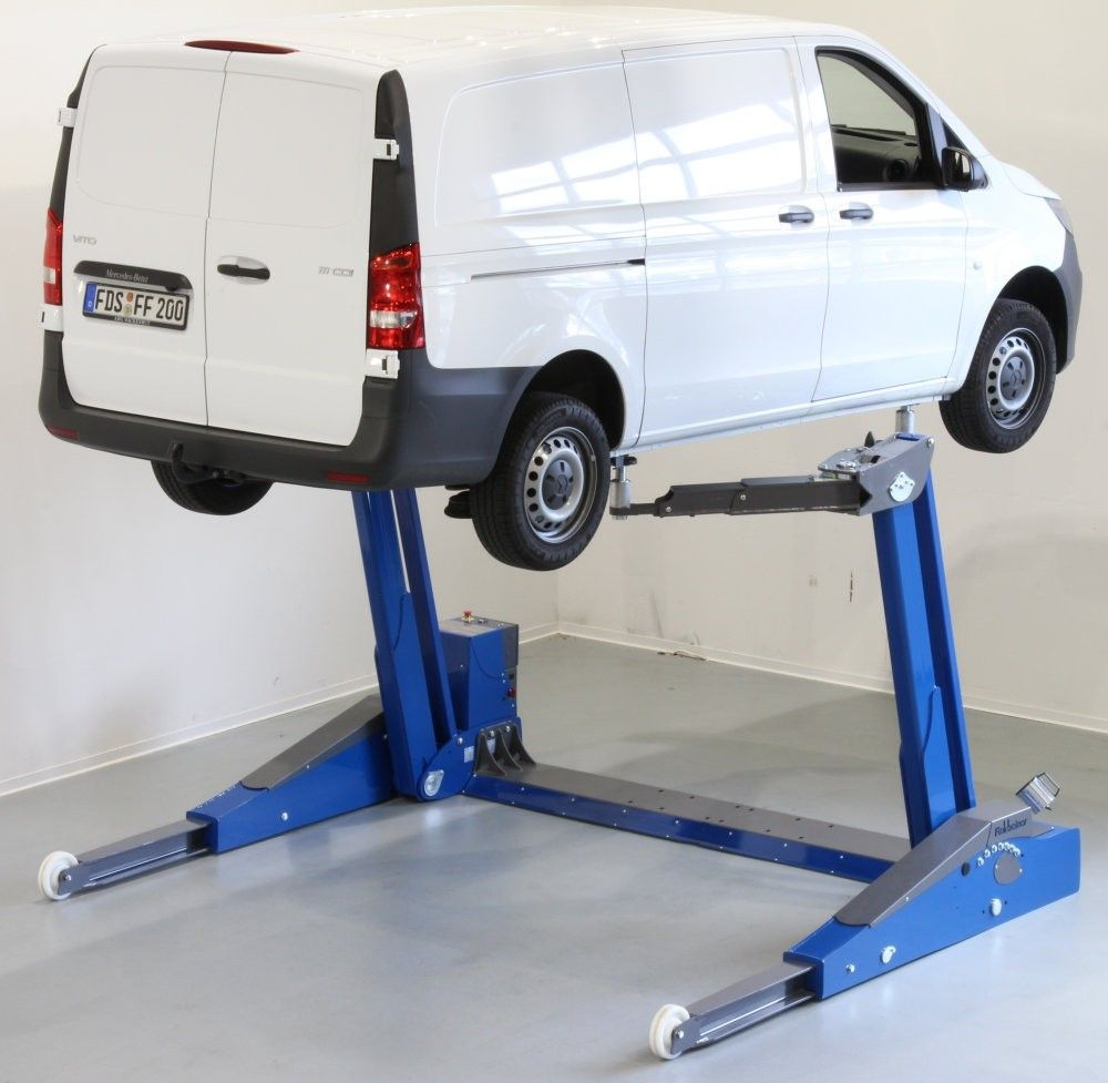 MAHA USA M-FHB-6500 Mobile Two Post Lift | Two post lift ...