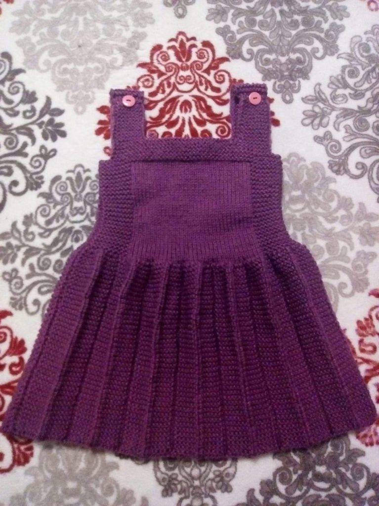 Pileli Askili Cocuk Jilesi Yapimi 2 3 Yas By Hatice5 Baby Knitting Patterns Orgu Bebek Elbise Ogreticileri