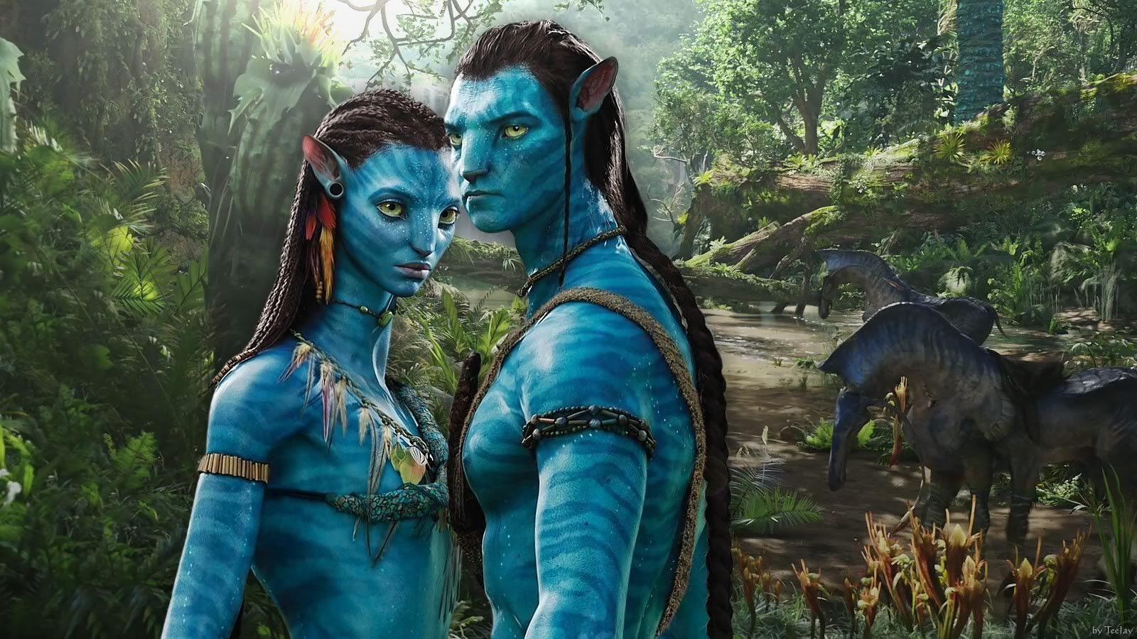 Neytiri Beautiful Warrior In Avatar This Hd Neytiri Beautiful Avatar Movie New Avatar Movie Avatar Characters