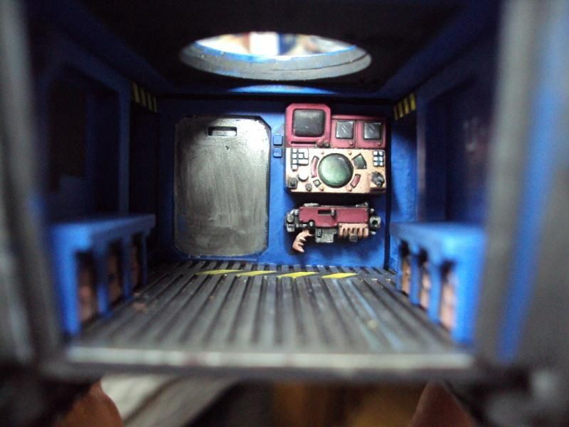 Image Result For Space Marine Rhino Interior