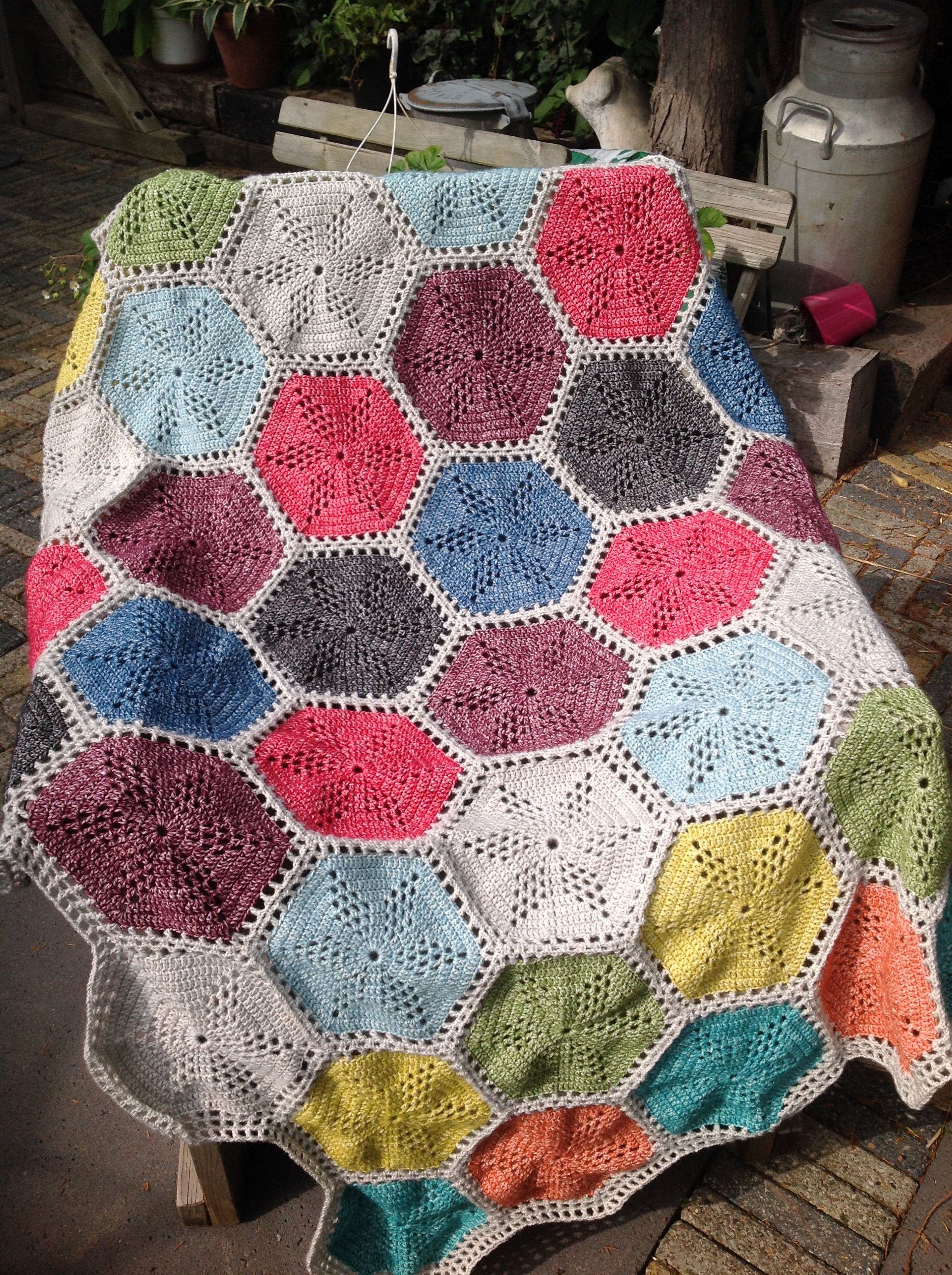 Twinkle star blanket made by me with scheepjes stone wash twinkle star blanket made by me with scheepjes stone wash bankloansurffo Image collections