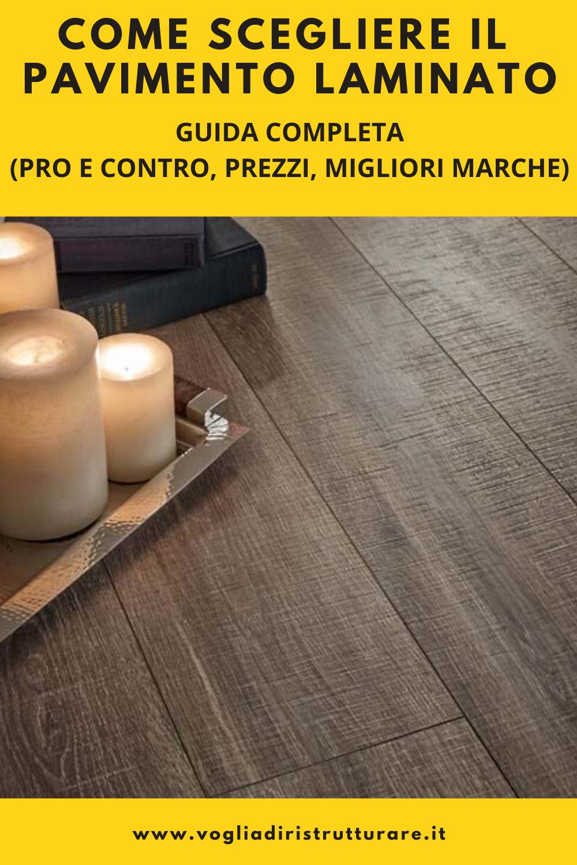 Pro E Contro Del Laminato pin su pavimento laminato