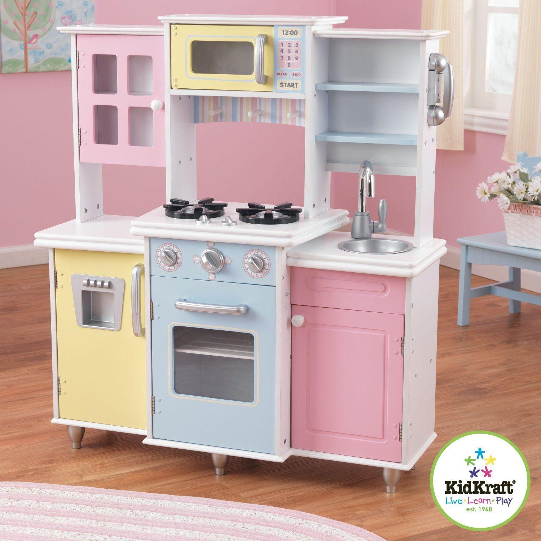 Amazon Com Kidkraft Master Cook S Kitchen Toys Games 140 84