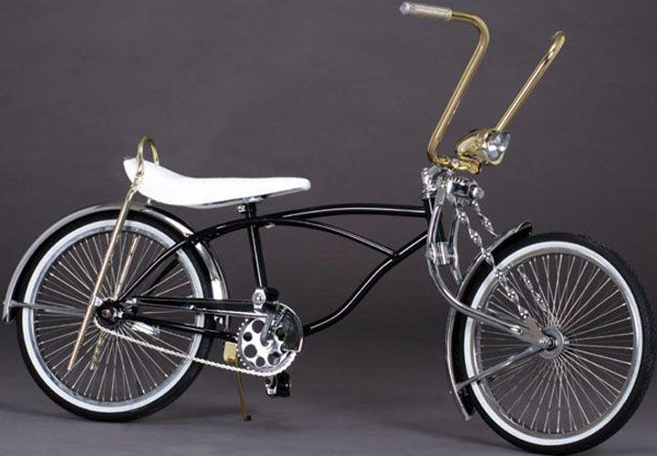 Low bicycle custom gold custom system