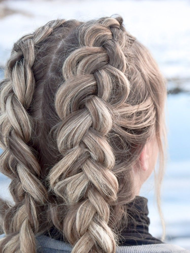Double Dutch Braid Diese Frisur Halt Den Ganzen Tag Hair