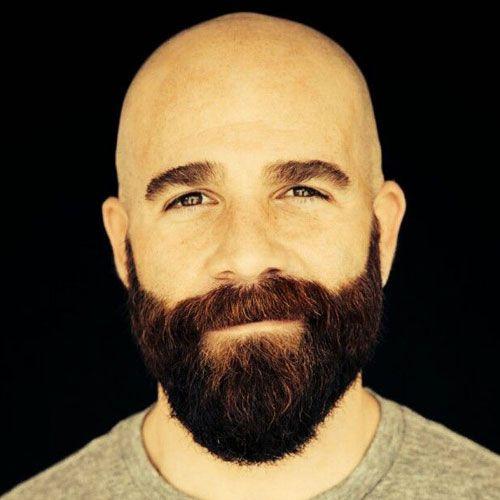 Glatze Mit Bart Bart Styles Careca Com Barba Barbudo Und Careca