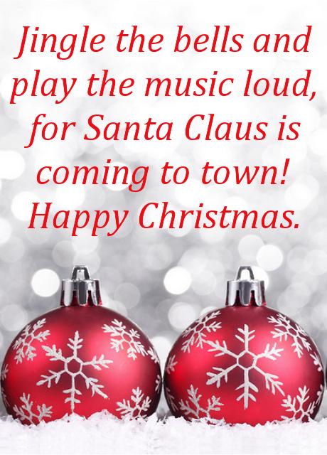 Lo Aayi Masti Ki Bahaar Maango Kya Chahiye Upahaar Santa Clause Unko Hi Denge Jinka Hoga Sadvyavahar Hppy Chris Christmas Images Christmas Christmas Bulbs
