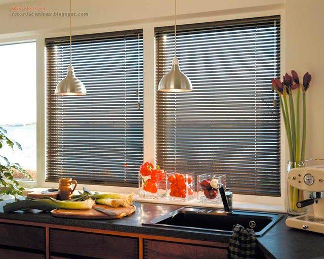 Que cortinas poner en la cocina cortinas y ropa de cama - Que cortinas poner en la cocina ...