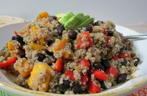 Black bean and butternut squash quinoa recipe yummly vegetarian black bean and butternut squash quinoa recipe yummly vegetarian pinterest butternut squash quinoa and beans forumfinder