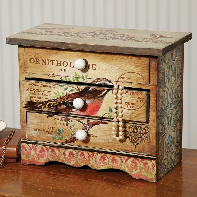 Give her a place for all her pretty things with our charming little chest - Songbird Jewelry Chest -- Orvis on Orvis.com!