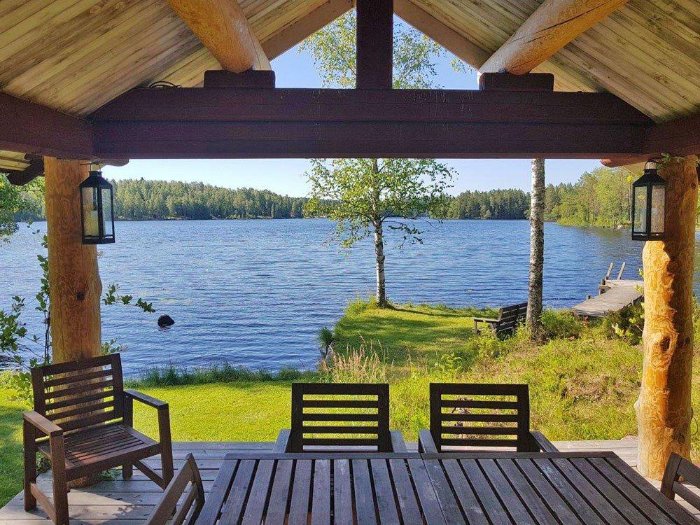 Ferienhaus Granbergsdal mit Boot am See, Värmland