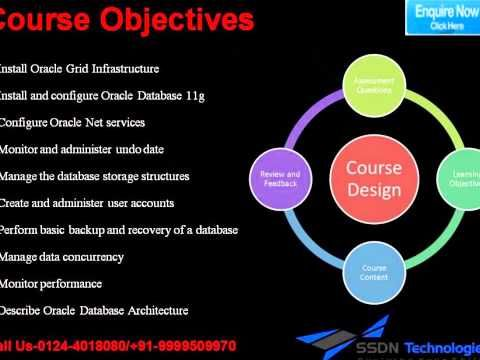 Oracle DBA Certification Training SSDN Technologies offers best ...