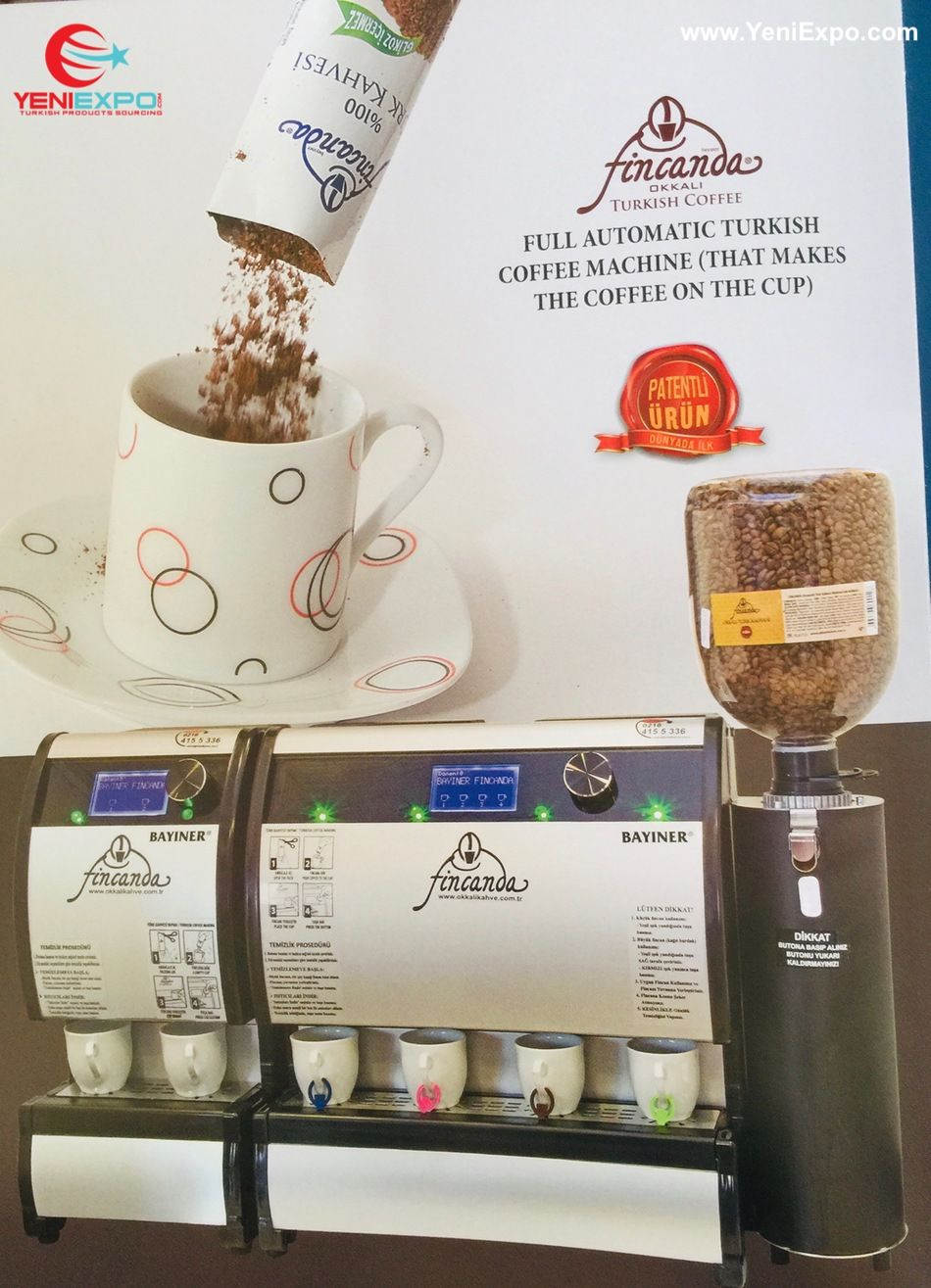Advanced Turkish Coffee Making Machines Available For Export Made In Turkey Contact Bayiner آلات صنع القهوة التر Making Machine Turkish Coffee Turkish