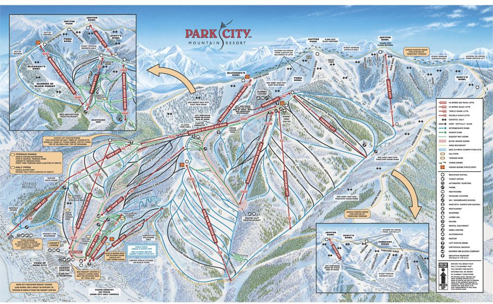 Where I Learned To Ride Yehaw Park City Mountain Park City Ski Resort Park City Trail Map