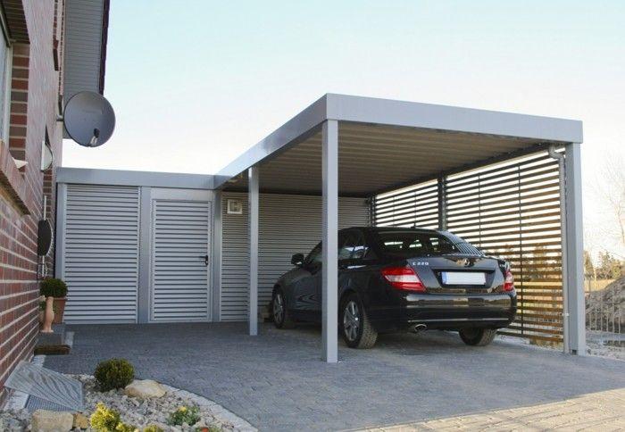 Carport Ideen carport design trends ideen alu gestaltung architektur moderne
