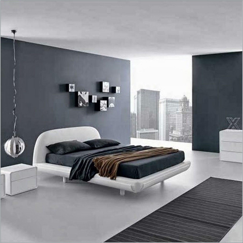 Outstanding Ocean Blue Bedroom Wall Colors With Oak Wood