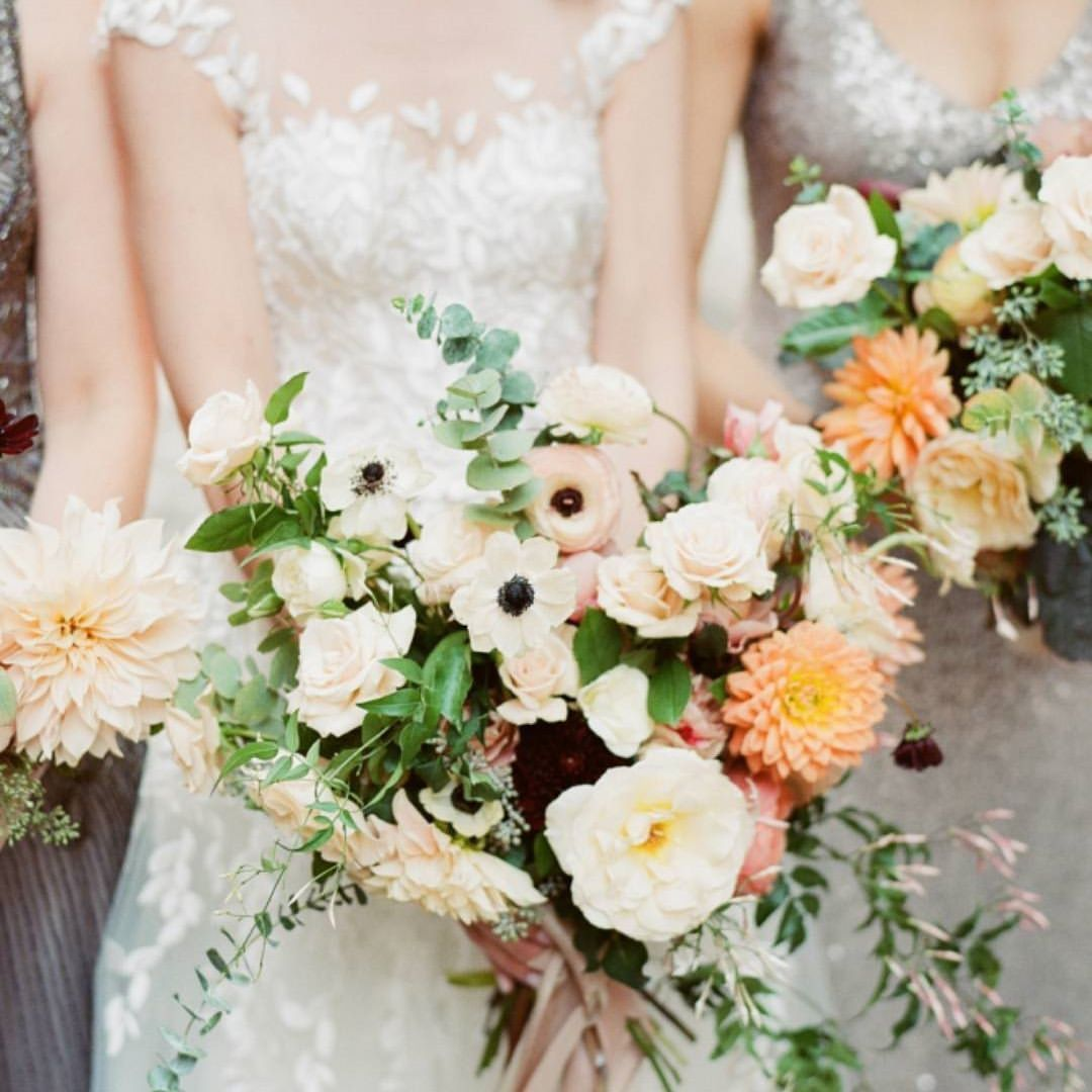 Bouquet This New York City Bride Wanted A Gorgeous Fall Wedding