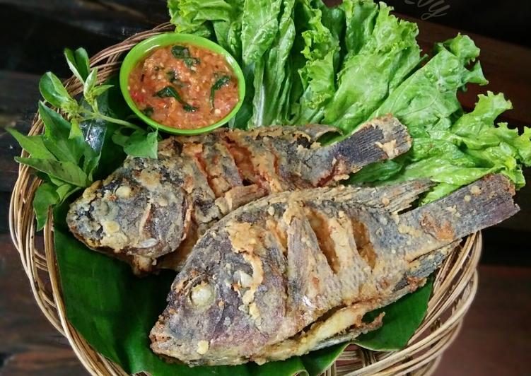 Resep Ikan Mujair Goreng Krispi Oleh Dapurvy Resep Resep Ikan Resep Makanan Dan Minuman