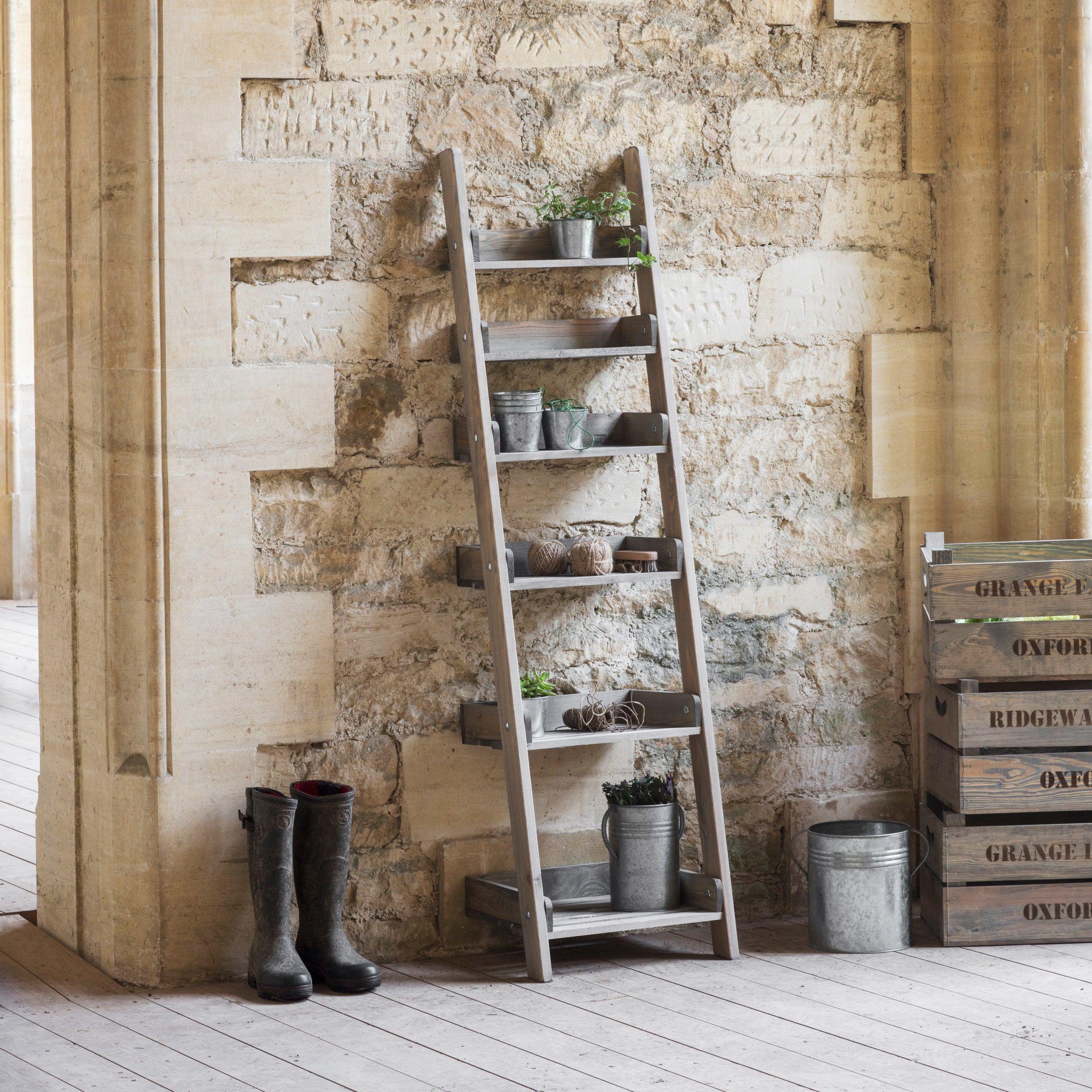 Aldsworth shelf ladder carronus wish list pinterest garden