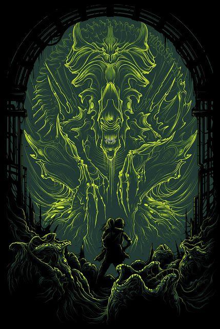 Aliens - Dan Mumford ----