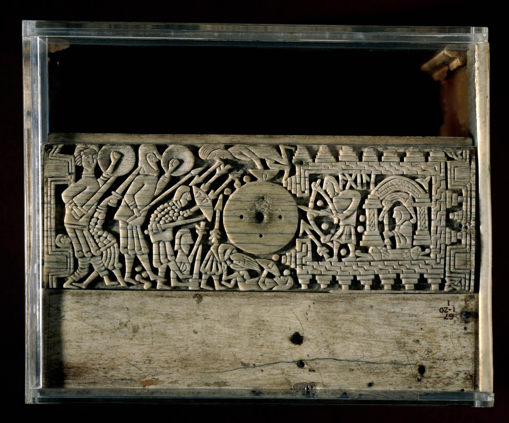 Early 8th c. Franks Casket / The Auzon Casket. © Trustees