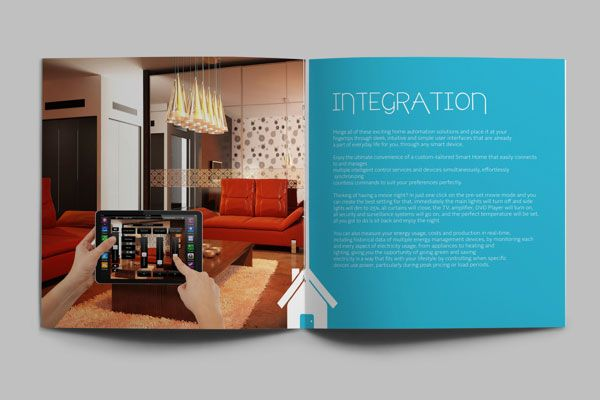interior design brochure - Brochure design, Brochures and Brochure design templates on Pinterest