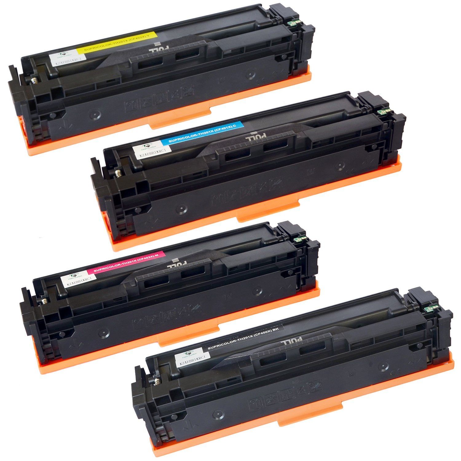 Supricolor Compatible 201x Toner Replacement For Cf400x Cf401x Cf402x Cf403x Toner Cartridges Use With Pro M252dw M252 In 2020 Toner Cartridge Video Camera Photo Toner