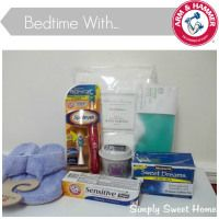 Bedtime with Arm & Hammer and a $100 Visa Giveaway - Simply Sweet Home @Jerri - simplysweethome.com