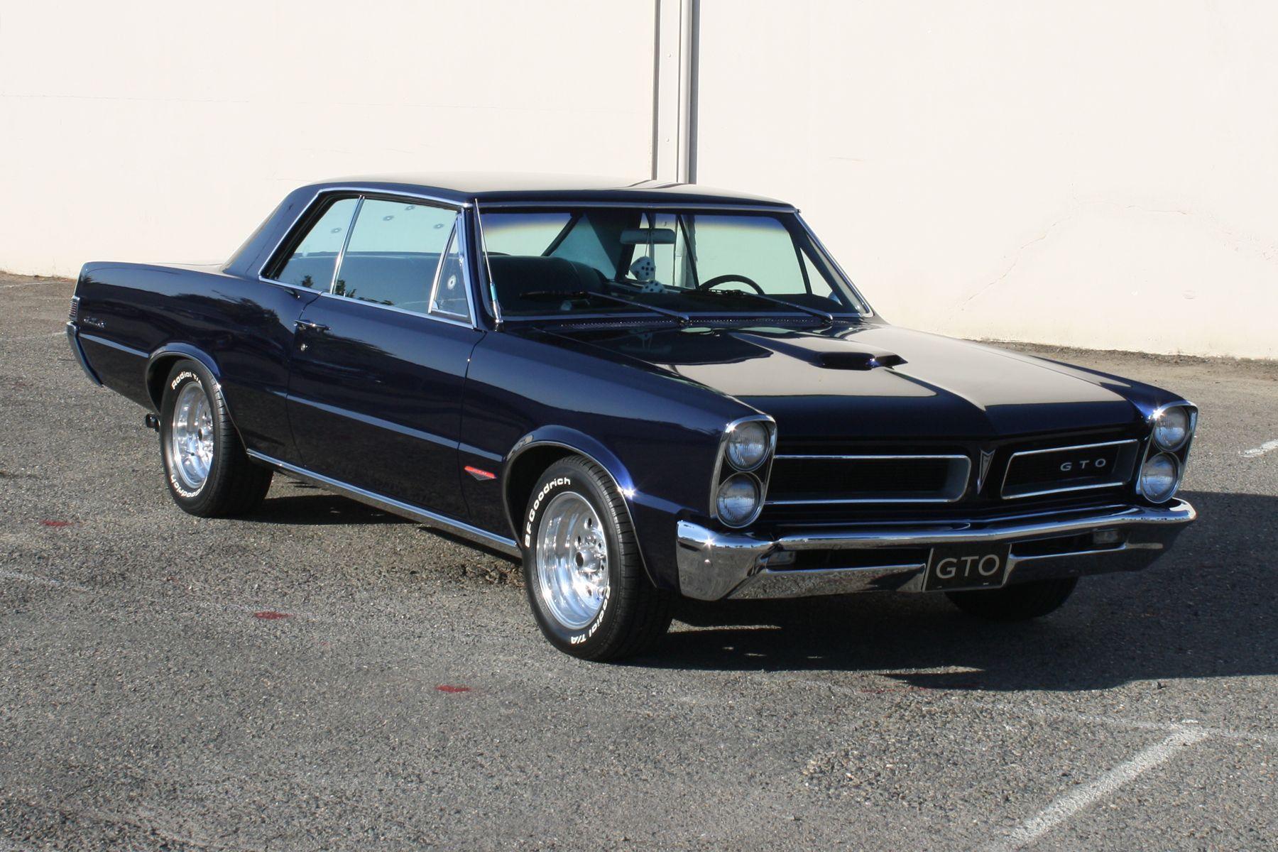 Dark Blue 1965 Gto I Ve Always Wanted One Of These Gto 1965 Gto Pontiac Gto