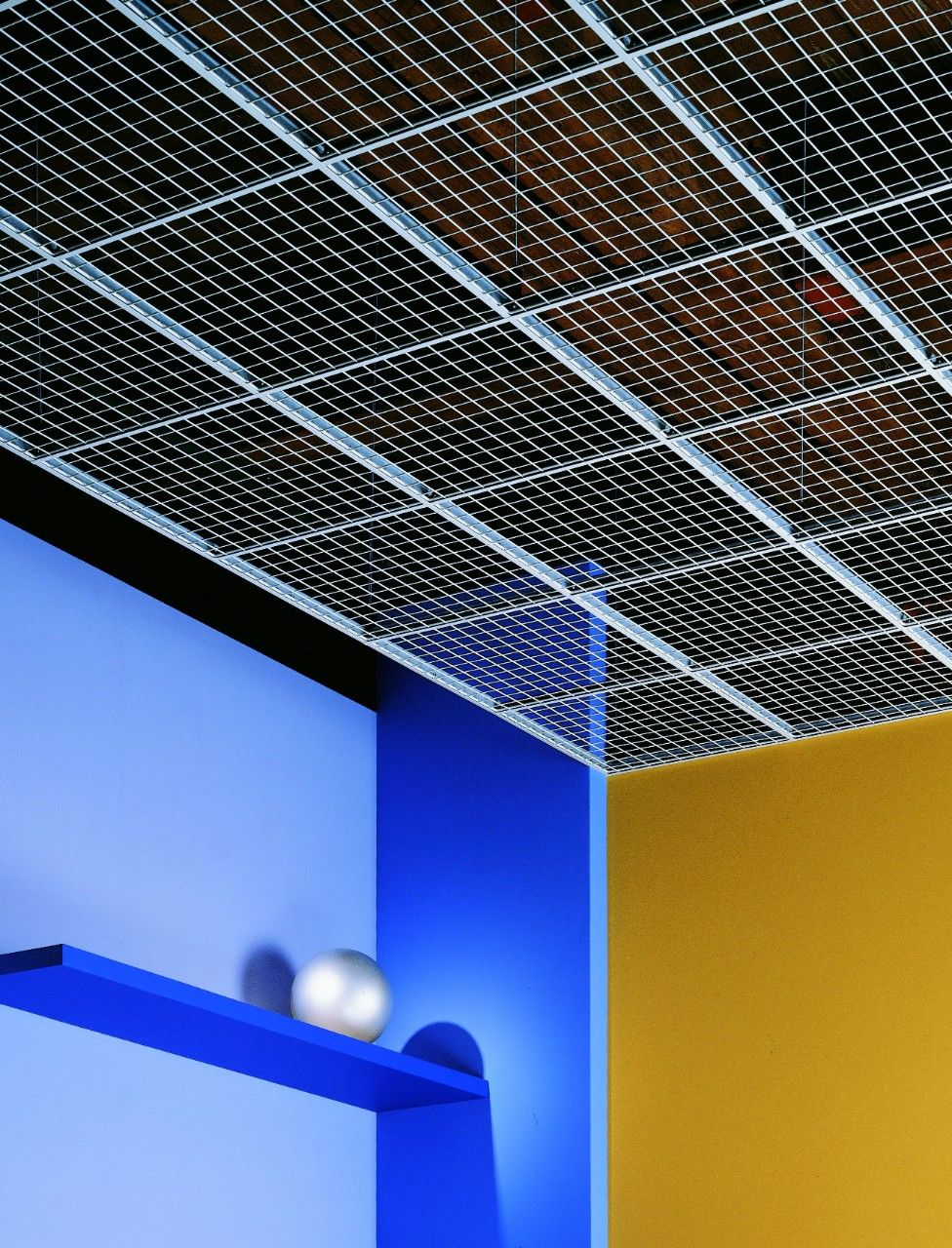 WireWorks Open-Cell Ceiling Panels | Studio 3: Office ...