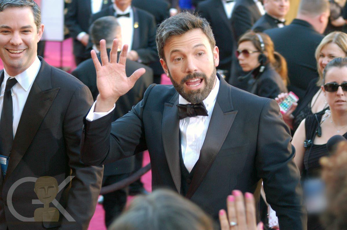 Hi Ben! #oscars #affleck #redcarpet